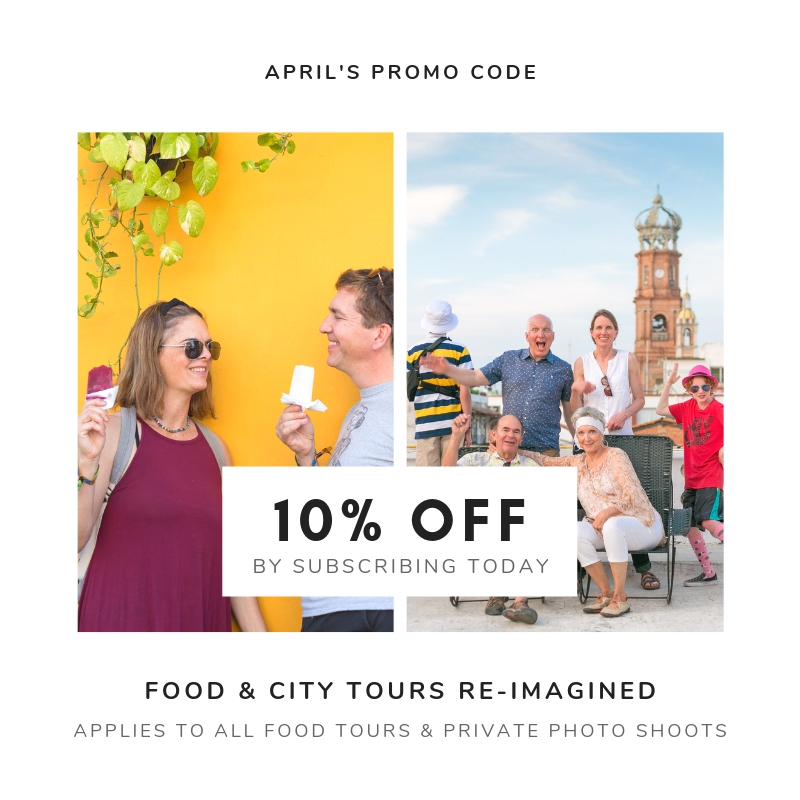 FREE discount coupons for food tour in Puerto Vallarta