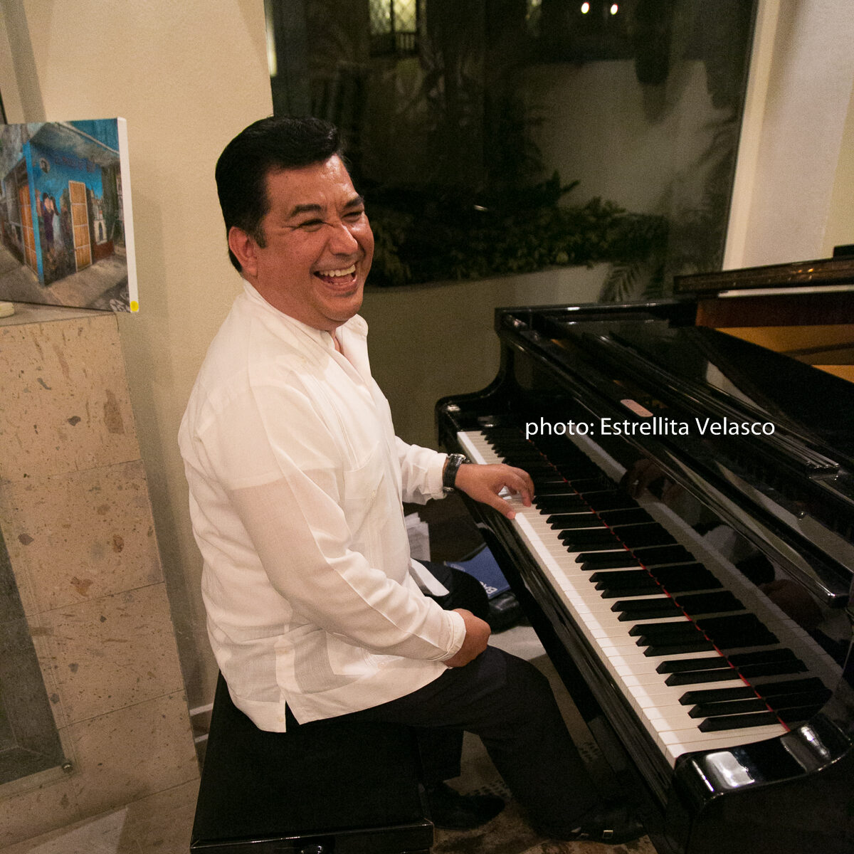 Pianist Salvatore in Puerto Vallarta
